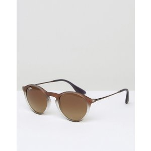 Ray-Ban | Ray-Ban Round Sunglasses In Brown
