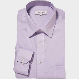 Joseph Abboud Lavender Classic Fit Non-Iron Dress Shirt - Men's Classic Fit | Men's Wearhouse