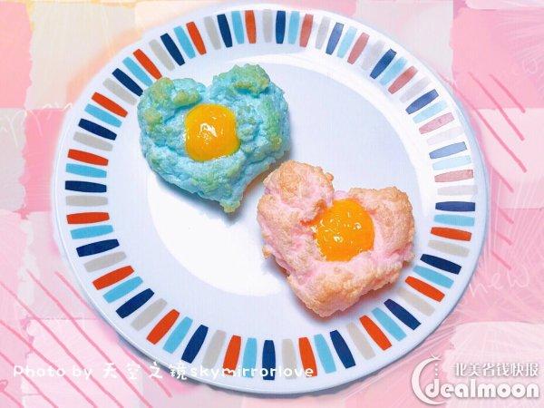 心形玫瑰云吐司,简单可爱的情人节早餐