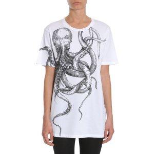 Alexander Mcqueen T-shirt Overesize Fit Women - Eleonora Bonucci