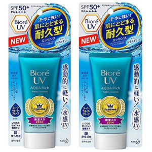 NEW 2017 version Kao Biore UV Aqua Rich Watery Essence Sunscreen SPF 50+ PA++++