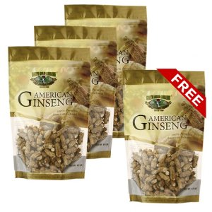 Short American Ginseng Extra Small 8oz bag x4 (Buy 3 get 1 free)