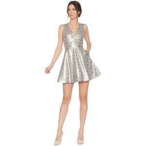 Varita V-Neck Cutout Party Dress