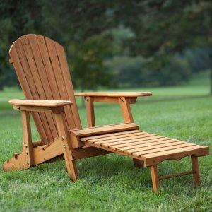 Coral Coast Big Daddy Reclining Adirondack Chair