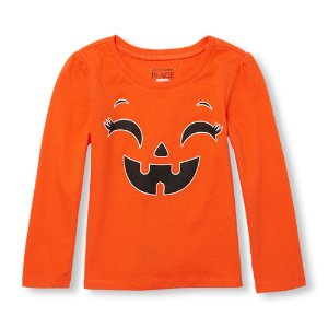 $2.99 + Free ShippingHalloween Graphic Tees @ Children's Place
