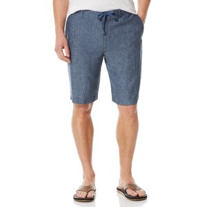 Linen Drawstring Short - Perry Ellis