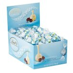 Lindt LINDOR Stracciatella White Chocolate Truffles, 60 Count Box
