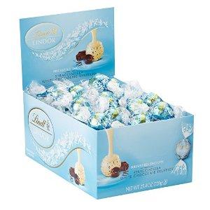 $15.88Lindt LINDOR Stracciatella White Chocolate Truffles, 60 Count Box