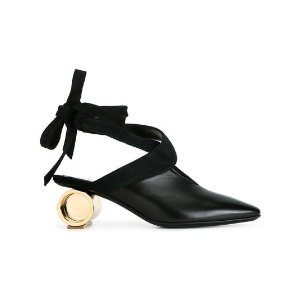 J.W.Anderson metallic heel pumps