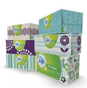 $8.47 Lowest price Puffs Plus Lotion Facial Tissues; 6 Family Boxes; 124 Tissues per Box