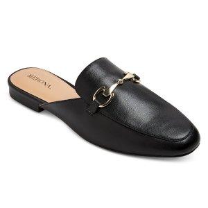 $22.99 Women's Kona Wide Width Backless Loafer Mules