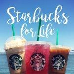 For a $10 Starbucks eGift Card @ Groupon
