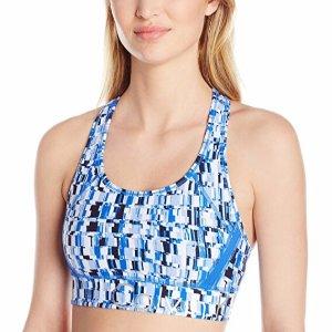 Calvin Klein Women's Electrolyte Print Large Logo Sports Bra