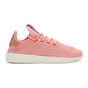 adidas Originals x Pharrell Williams - Pink Tennis Hu Sneakers