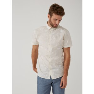 Summer Print Light-Cotton Shirt