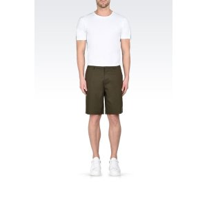 Emporio Armani Men Bermuda short, Cotton - Armani.com