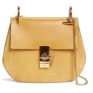 Chloé Drew Leather & Suede Shoulder Bag