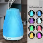 Ultrasonic Aromatherapy Essential Oil Diffuser - BAXIA TECHNOLOGY 100ml Cool Mist Humidifier with 8 Color LED Mood Lights for Office and Bedroom