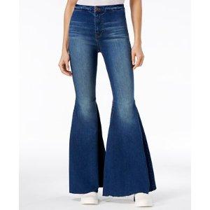 Free People Just Float On Flare-Leg Jeans - Free People - Women - Macy's