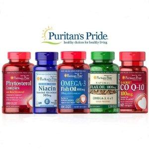 17% off + buy 2 get 3 freeTop Sellers @ Puritan's Pride