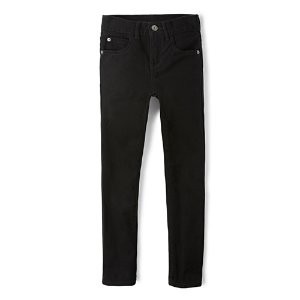 Boys Basic Skinny Jeans - Black Wash | The Children's Place