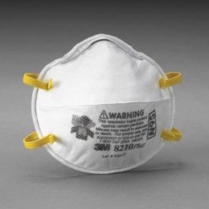 $8.93M 8210PPB1-A-NA Plus Particulate Respirator, 20-Pack.