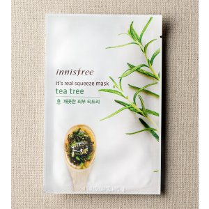 SKIN CARE - It's real squeeze mask - tea tree | innisfree