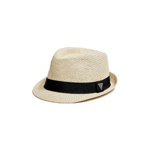 Woven Triangle Fedora | GuessFactory.com