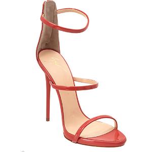 Giuseppe Zanotti Patent Strappy Heeled Sandal