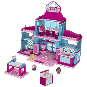 Shopkins Kinstructions Deluxe Supermarket Building Set - Chief Club Academy