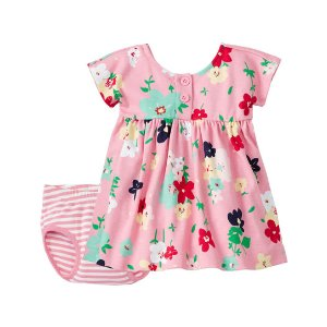 Hanna Andersson Starfish Pink Its a Playdress, Its a Daydress & Diaper Cover | zulily