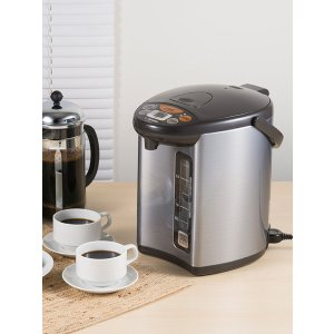 Micom Corded Stainless Steel Water Boiler by Zojirushi at Gilt