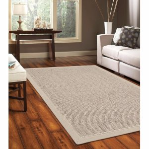 $30Home Legend 5x8-Foot Heavy Weave Seagrass Rug