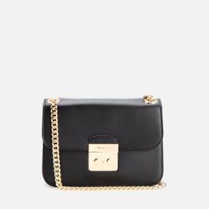 MICHAEL MICHAEL KORS Women's Sloane Editor Mid Chain Shoulder Bag - Black