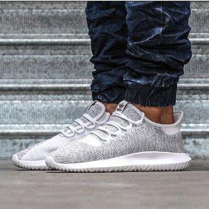 adidas Originals Tubular Shadow Knit - Men's - Running - Shoes - White/White/Black