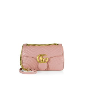 Gg 2.0 Medium Quilted Leather Shoulder Bag by Gucci