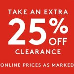 Clearance @ Nordstrom Rack
