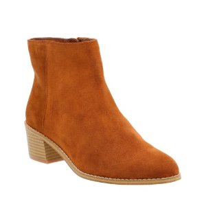 Breccan Myth Tan Suede - Boots for Women - Clarks® Shoes Official Site