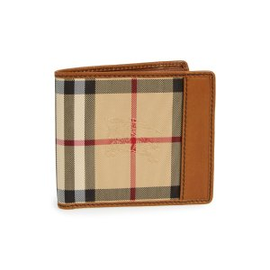 Horseferry Check Billfold Wallet