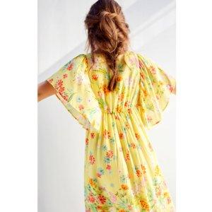 LONG FLORAL DRESS - DRESSES-GIRL   4-14 years-KIDS-SALE   ZARA United States
