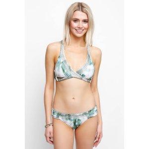 Lucky Brand Indian Summer Halter Wrap Bikini Top   South Moon Under