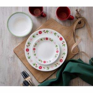 Corelle Livingware Spring Pink 16-Piece Dinnerware Set - Walmart.com