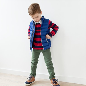 Kids Superlight Down Vest from Hanna Andersson