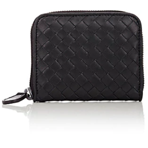 Intrecciato Zip-Around Wallet