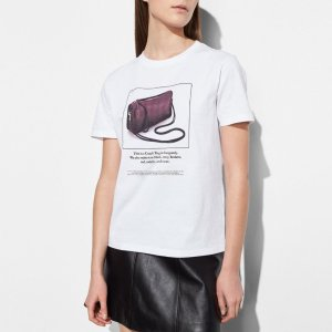COACH: T-shirt With Archive Print