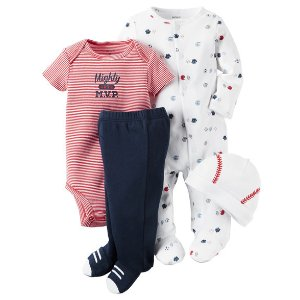 Baby Boy 4-Piece Babysoft Take-Me-Home Set | Carters.com