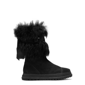 Refurbish Fur Boots - Shoes | Shop Stuart Weitzman