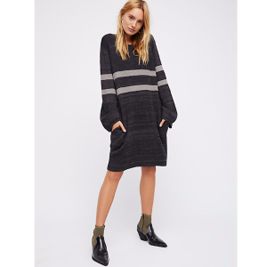 On Your Team Sweater Mini Dress