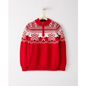Snö Happy Half Zip Sweater