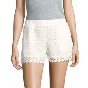 Saks Fifth Avenue - Floral Patterned Scalloped Shorts - saksoff5th.com